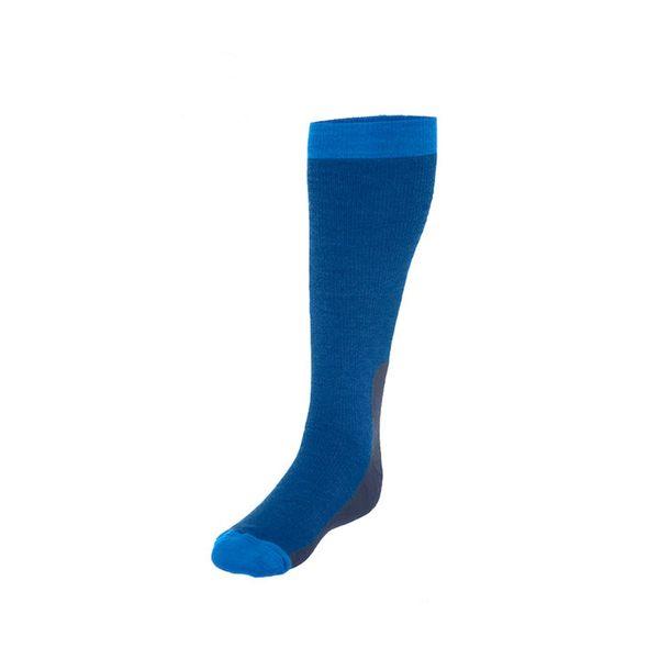 Norrona 老人頭 tamok Heavy Weight Merino Socks 美麗諾羊毛滑雪襪 加厚 線條藍