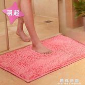 雪尼爾衛浴吸水地墊地毯浴室衛生間門廳進門口腳踏防滑墊腳墊門墊CY 韓風物語