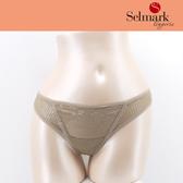 selmark出清-無痕格紋網紗S-L丁褲(卡其.黑)S1101