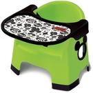 日本 迪士尼 Disney 米奇學習餐椅-綠色 附餐墊