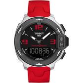 TISSOT T-RACE Touch 2014仁川亞運特別款 TOUCH專業處空多功能腕錶T0814201705703紅色