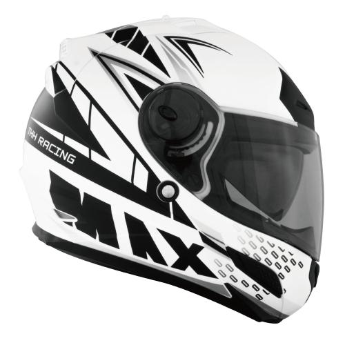 【東門城】THH TS-43A+ MAX (平白黑)全罩式安全帽 雙鏡片