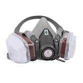 防毒面具噴漆噴藥專用口罩男防打農藥防毒化工氣體面罩