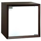 【藝匠】魔術方塊胡桃色大木門櫃收納櫃 家具 組合櫃 廚具 收藏 置物櫃 櫃子 小櫃子