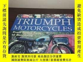 二手書博民逛書店Triumph罕見Motorcycles: From Speed
