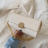 復古小包包2020新款潮時尚女包百搭錬條側背法棍腋下包手拎小方包 雙11 伊蘿