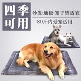 寵物墊子 中型犬狗墊子泰迪狗窩四季通用狗籠墊板寵物腳墊 BF22456『寶貝兒童裝』
