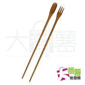 【台灣製】雅楓 加長型多功能料理筷/調理匙叉筷 TL-2415 [24S] - 大番薯批發網