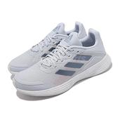 adidas 慢跑鞋 Duramo SL K 藍 白 女鞋 大童鞋 愛迪達 基本款【ACS】 GV9822