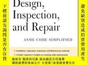 二手書博民逛書店Power罕見Boiler Design, Inspection And RepairY364682 Male