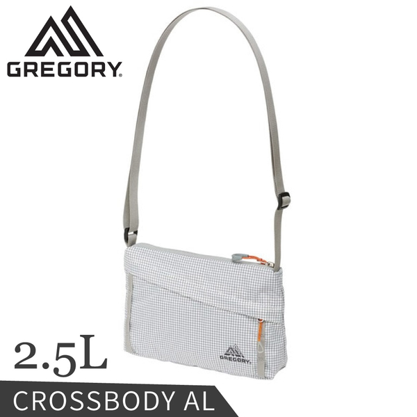 【GREGORY 美國 2.5L CROSSBODY AL輕量肩背包《時尚白》】138248/小背包/側背包/斜背包