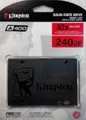 全新Kingston 金士頓 240GB 240G SSD 固態硬碟 2.5吋 SA400S37