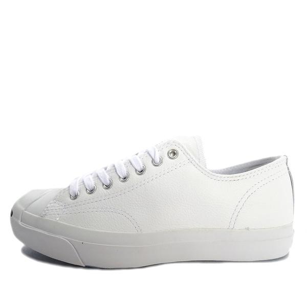 Converse Jack Purcell Leather [1S961] 男女 休閒 經典 復古 百搭 帆布鞋 白