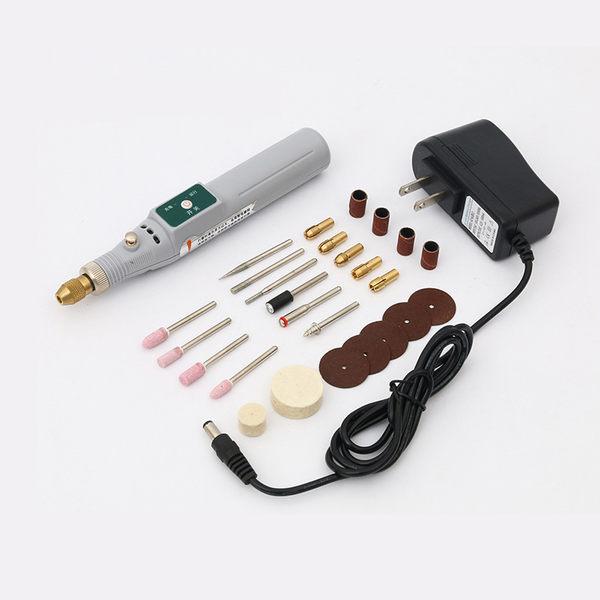 迷你雕刻筆 微型雕刻機 調速電動電磨機打磨拋光 微型小手鑽電鑽IGO 智能生活館