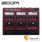 ZOOM B3N 電貝斯 綜合效果器 原廠公司貨 一年保固【BASS/貝士專用】