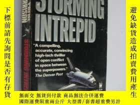 二手書博民逛書店Storming罕見Intrepid (英文原版,三面刷黃)Y8