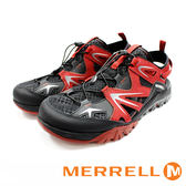 【MERRELL促銷7折】MERRELL CAPRA RAPID SIEVE 防潑水 水陸兩棲休閒鞋 紅  (男)
