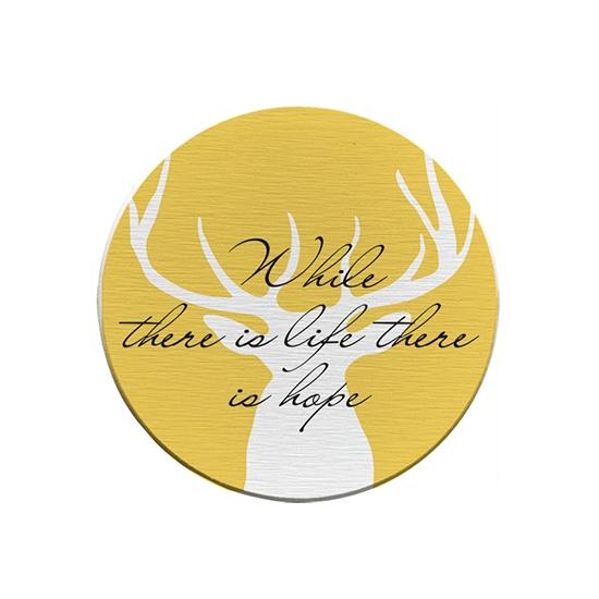 硅藻土 杯墊 皂墊 北歐風 防滑 茶墊 矽藻土 防潮 交換禮物 北歐風麋鹿硅藻土杯墊 【F019】MY COLOR