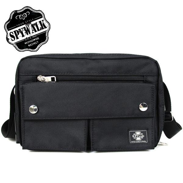 側背包 SPYWALK都會型男質感優雅多夾層托特包NO:8246