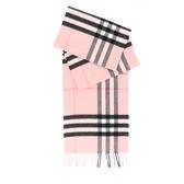 【BURBERRY】基本款經典格紋喀什米爾圍巾(煙燻玫瑰色)3994133 ASH ROSE
