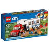 LEGO 樂高 City 城市系列 60182 皮卡車及露營車 【鯊玩具Toy Shark】
