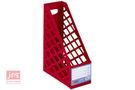 [ABEL] A4一體成型雜誌盒(紅)
