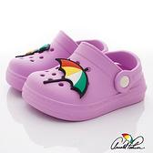 雨傘Arnold Palmer童鞋-休閒懶人拖鞋-8213901-140粉(中小童段)