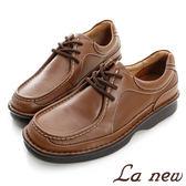 【La new outlet】三密度PU氣墊休閒鞋(男222016118)