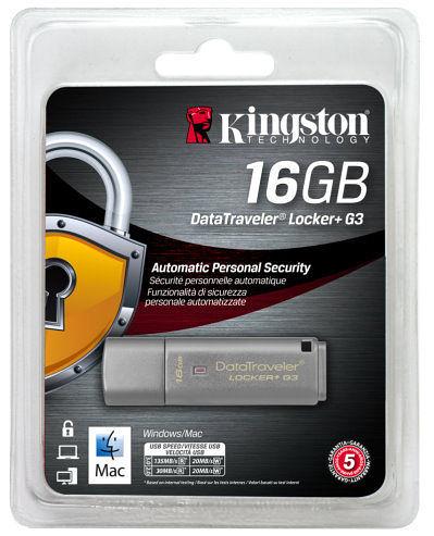 全新 金士頓 KINGSTON DTLPG3 Locker+ 16G鐵灰色 ( DTLPG3/16GB )