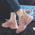 老爹鞋 2021夏季新款街拍爆款運動潮鞋女跑步老爹學生韓版百搭板鞋ins潮 小天使