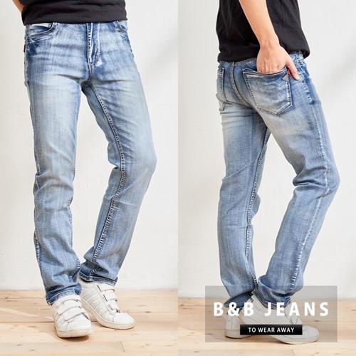 涼感皮標設計牛仔褲