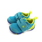 Moonstar 機能鞋 寶寶鞋 魔鬼氈 藍綠色 小童 童鞋 MSB8881 no160