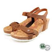 【Panama Jack】Julia蛇紋楔形涼鞋 棕色 (PSW47-BAR)