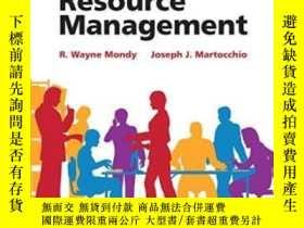 二手書博民逛書店Human罕見Resource Management (14th
