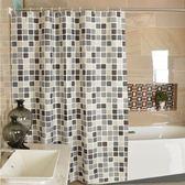 門簾 浴簾加厚防水保溫簾子隔斷防霉滌綸布浴室洗澡淋浴掛簾