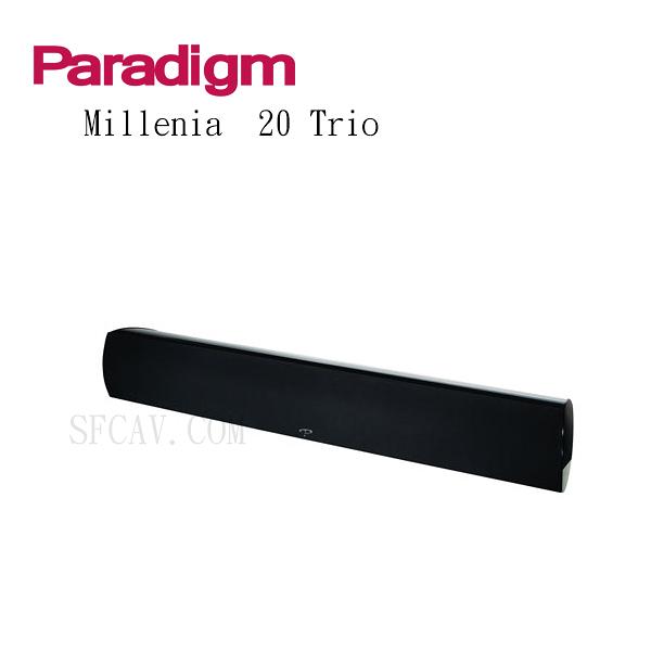 【新竹勝豐群音響】Paradigm MILLENIA 20 Trio 左/中/右揚聲器