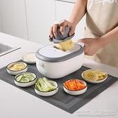 切菜神器抖音多功能瀝水籃切菜器家用廚房洗切一體土豆蘿蔔切片刨絲神器【凱斯盾】