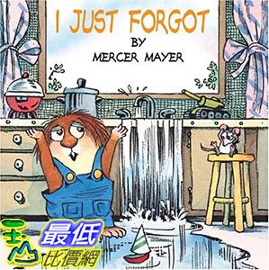 [106美國直購] 2017美國暢銷兒童書 I Just Forgot (A Little Critter Book)