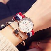 (交換禮物)手錶女學生韓版簡約潮流ulzzang休閒大氣女款手錶女士學生防水錶