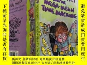 二手書博民逛書店horrid罕見henry and the mega mean time machine 可怕的亨利和超級平均時