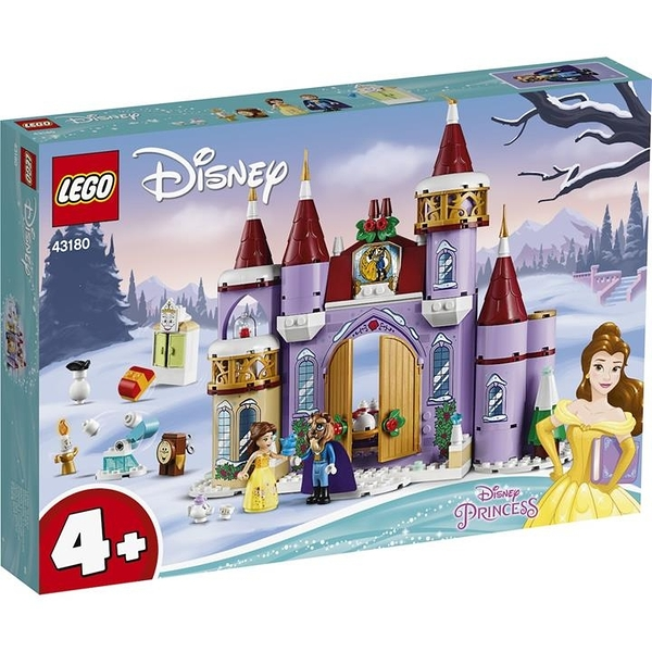 LEGO 樂高  43180 Belle s Castle Winter Celebration