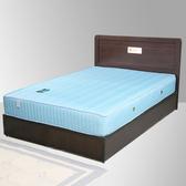單人床《YoStyle》朵拉3.5尺單人床組(床頭片+床底)(胡桃/白橡) 免運  專人配送