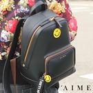 後背包-限定微笑織帶多功能後背包(M)肩背 手提 多用 包包【SBG28-A126M】S'AIME東京企劃