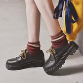 春季新款英倫風學院原宿學生韓版ulzzang百搭軟妹小皮鞋女春單鞋 童趣屋