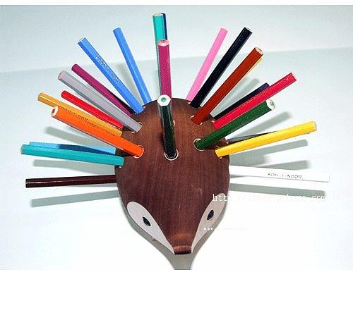 捷克製KOH-I-NOR 24色油性色鉛筆(手工製造刺蝟型24支組)