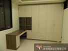 【歐雅 系統家具 】衣櫃結合書桌...