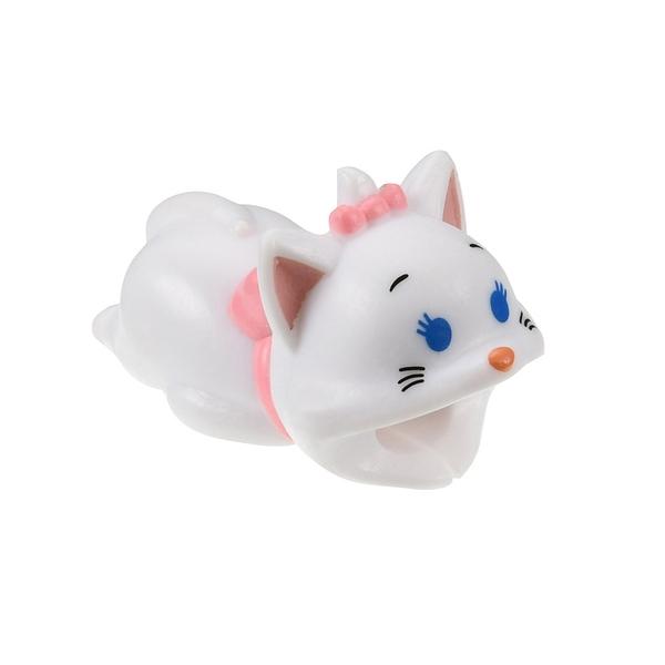 【京之物語】日本迪士尼 Cable Bite瑪麗貓咬咬保護線套 傳輸線 手機線 iphone限定-預購