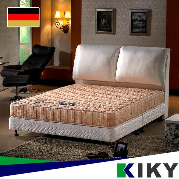 彈簧床墊/雙人加大6尺-【一代德式】旗艦二線護背彈簧~超硬護背式床墊~台灣自有品牌-KIKY-Germany