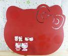 【震撼精品百貨】Hello Kitty 凱蒂貓~KITTY磁鐵留言板-掛式紅色