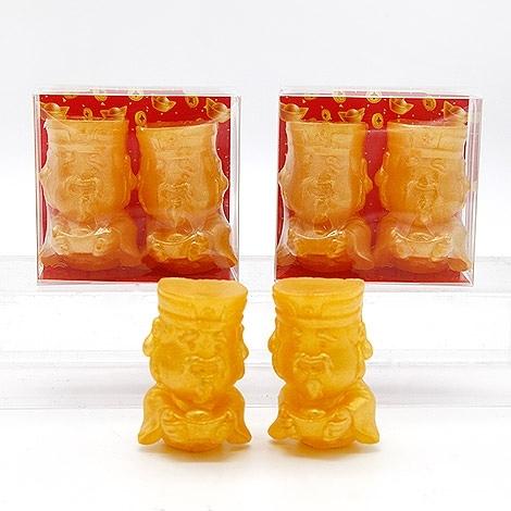 幸福婚禮小物「好運雙雙來財神手工香皂組」 活動小禮物/送客禮/年節禮品/過年/手工香皂